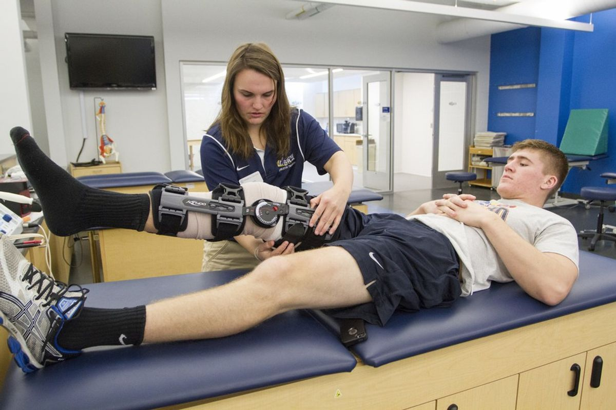 Things Athletic Training Majors Learn