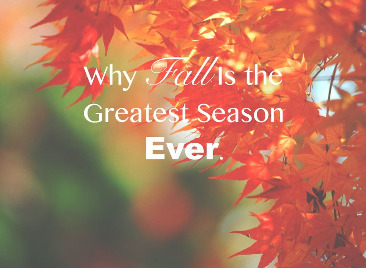 10 Reasons Why Fall Is the Greatest Season Ever