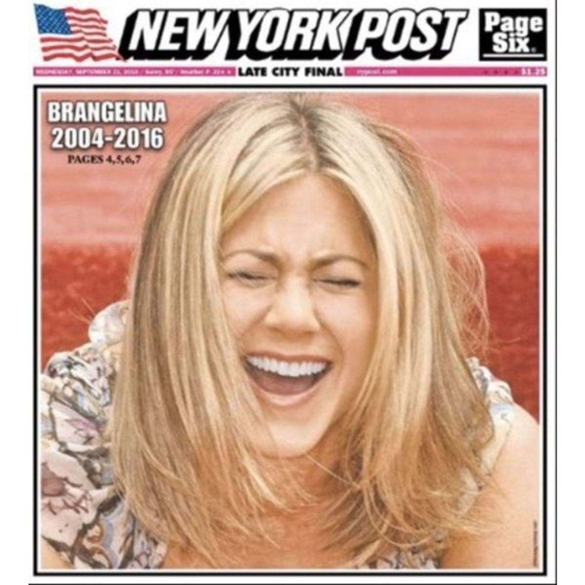 Brangelina Is No More: Through The Eyes Of Jennifer Aniston