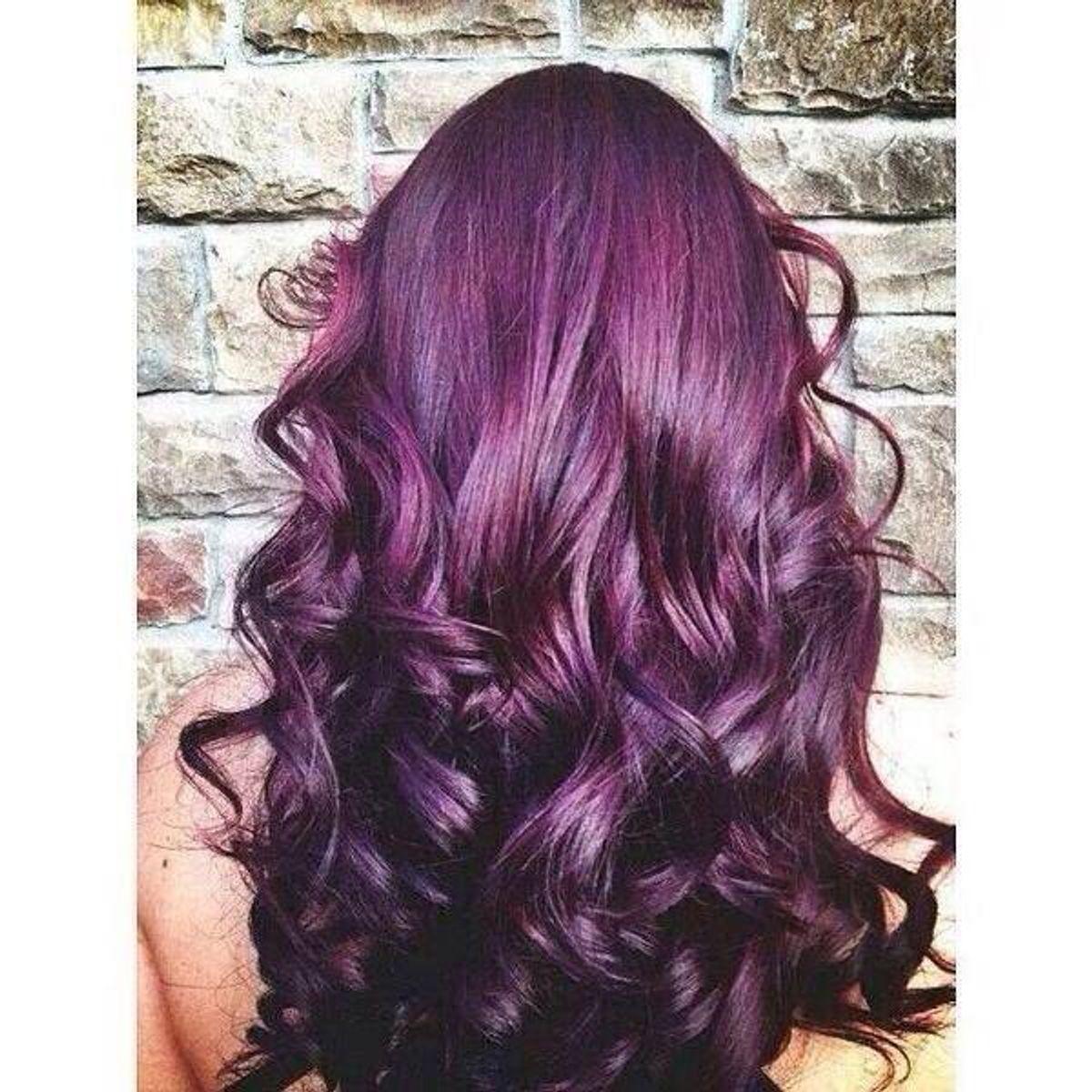 How Dying My Hair Purple Saved My Life