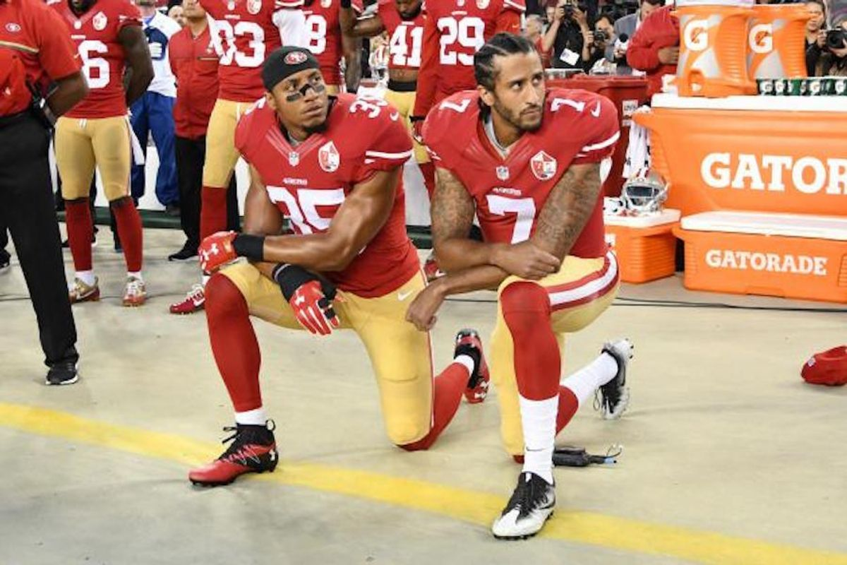 Kneeling For The National Anthem: Why I See Both Sides