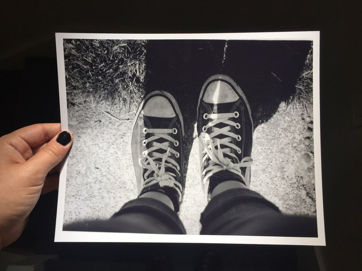 Why A Photo Of My Shoes Made Me Cry