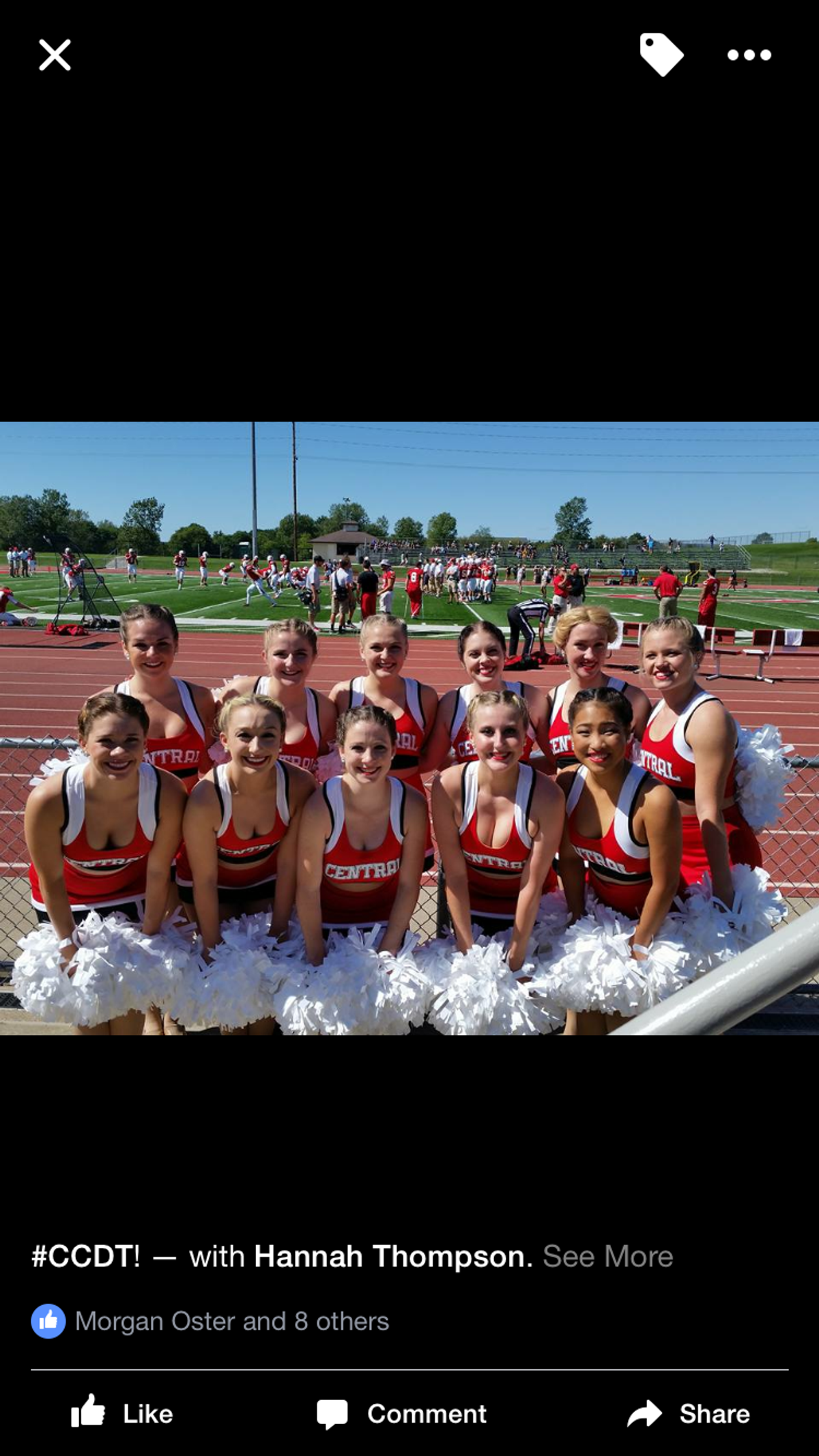 Why I Love Being Apart Of the Central College Dance Team