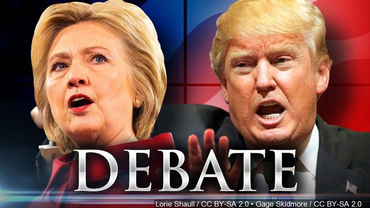 49 Thoughts I Had During The Presidential Debate