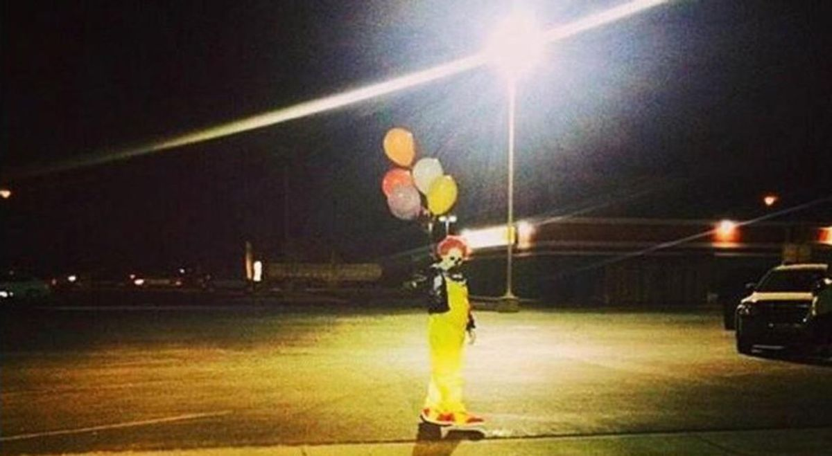 Clown Sighting Epidemic Continues