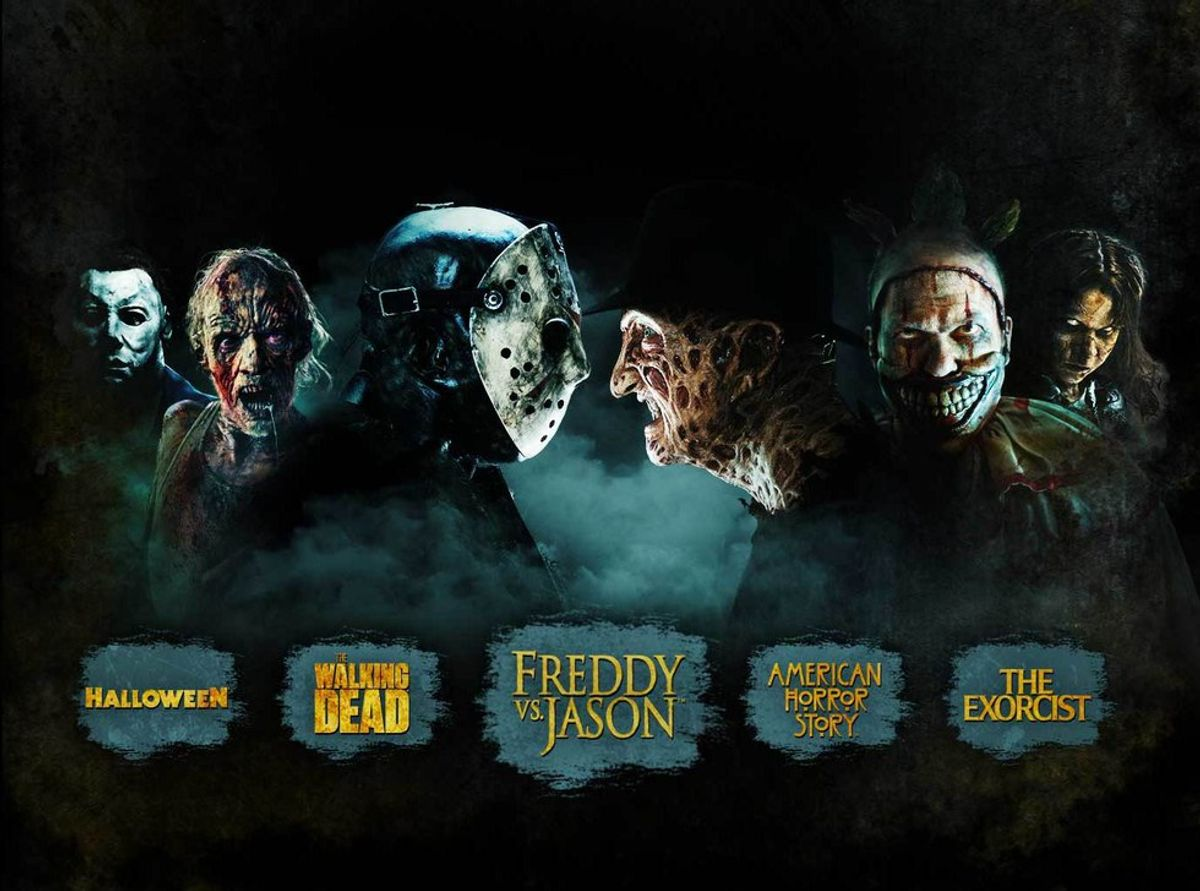 Top 10 Best Attractions At Hollywood's Halloween Horror Nights