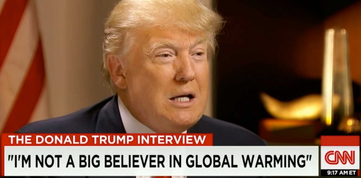 PSA: Donald Trump And The Republican Party Need To Start Listening To Science