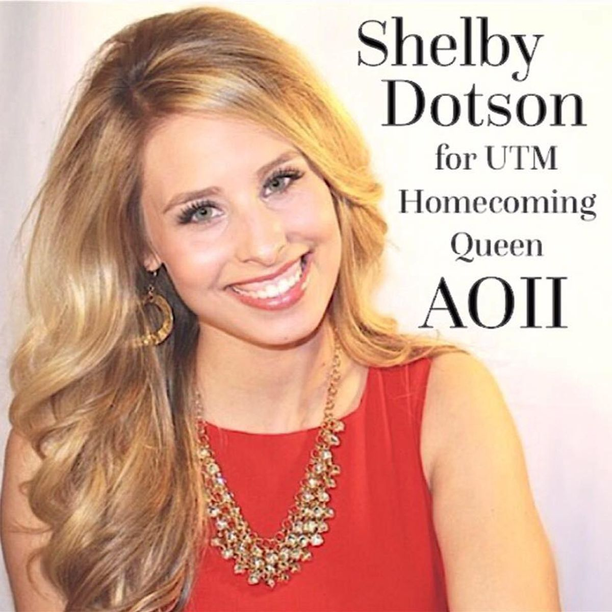 Shelby Dotson: UT Martin Homecoming Queen Nominee