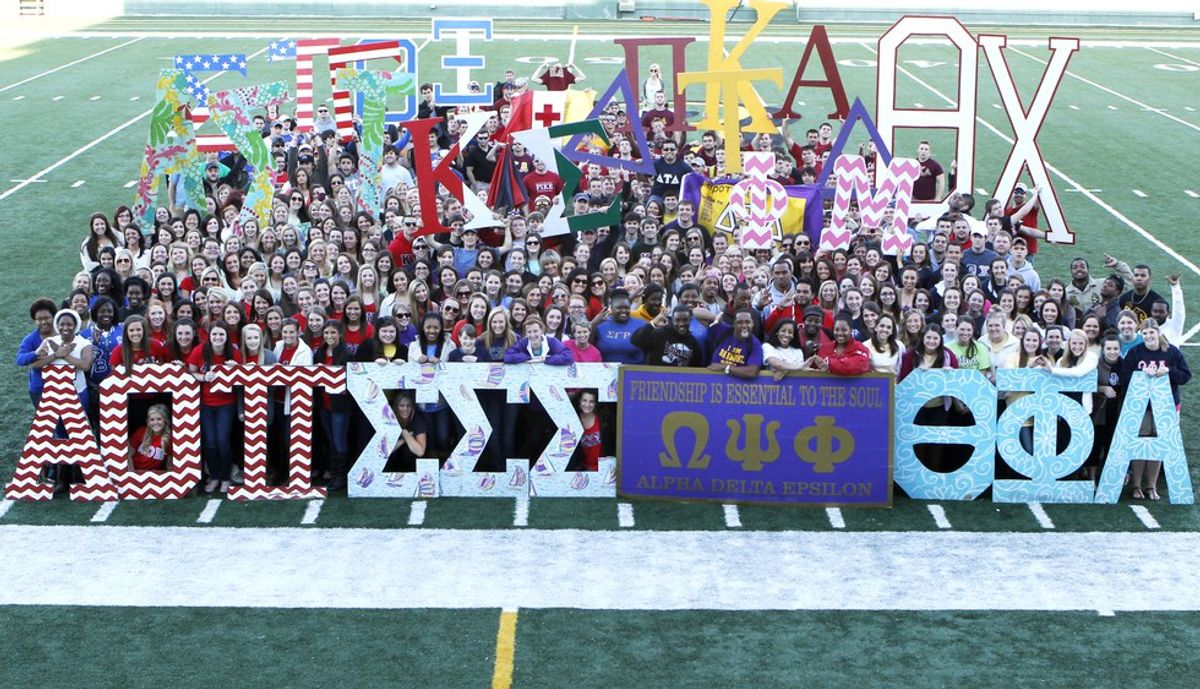 An Open Letter To People Who Hate On Greek Life