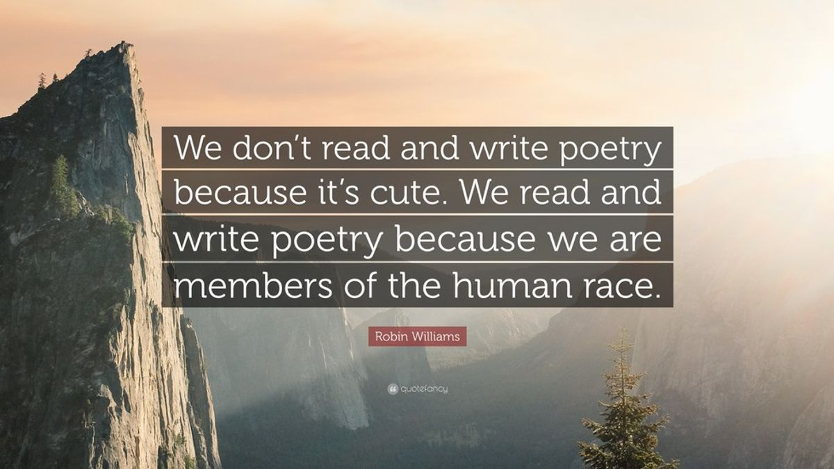 The Importance of Poetry