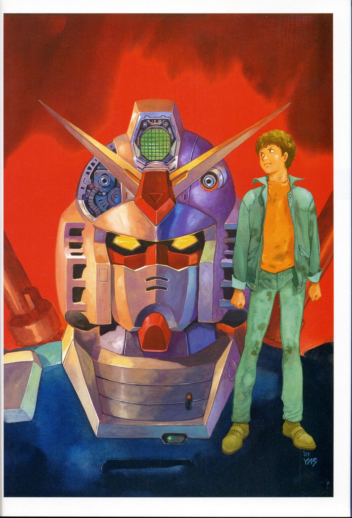 Mobile Suit Gundam In The West Part 1