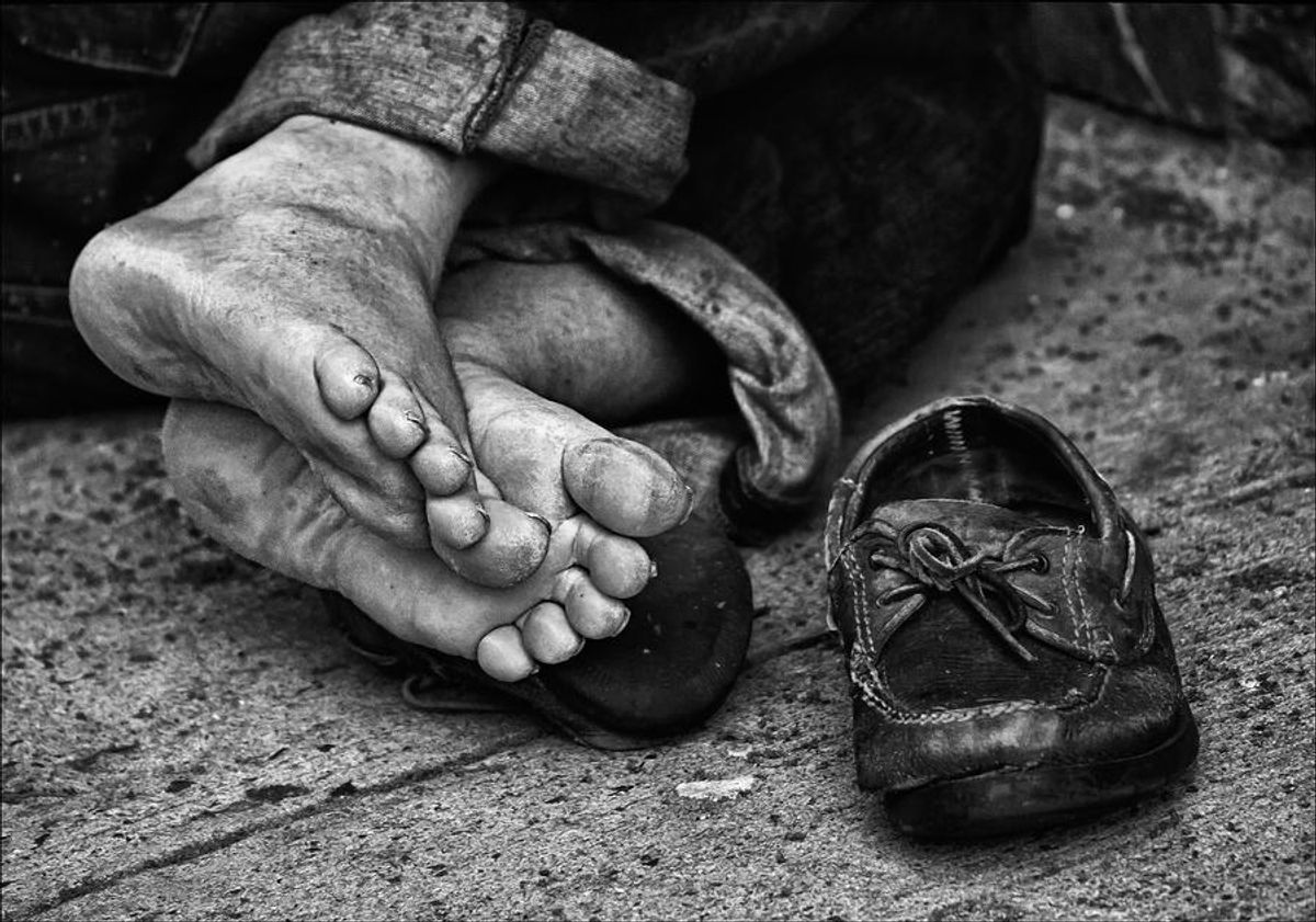 An Ode to The Homeless