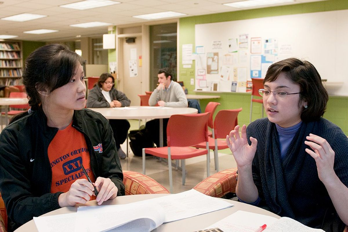 Writing Center Theory - A Brief Discussion On English Language Learners