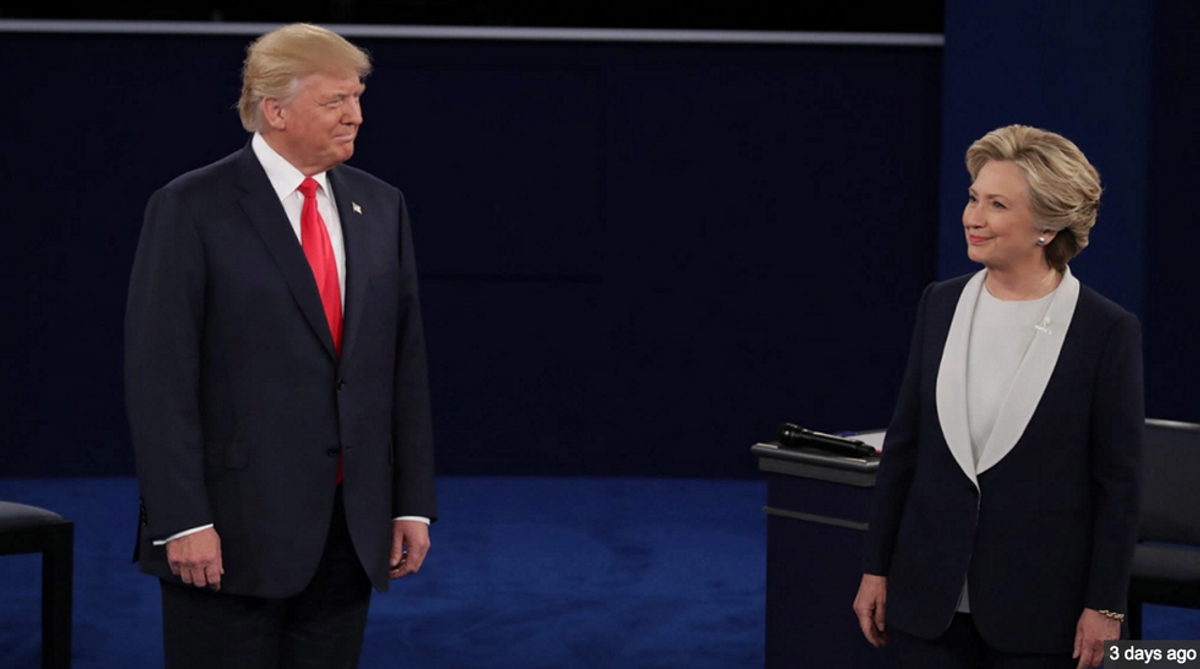 Why The First 15 Seconds of The Second Presidential Debate Taught Me More About The Candidates Than The Actual Debate Did