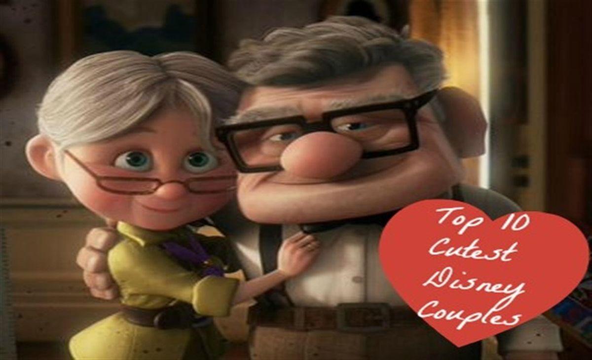 TOP 10 CUTEST DISNEY COUPLES