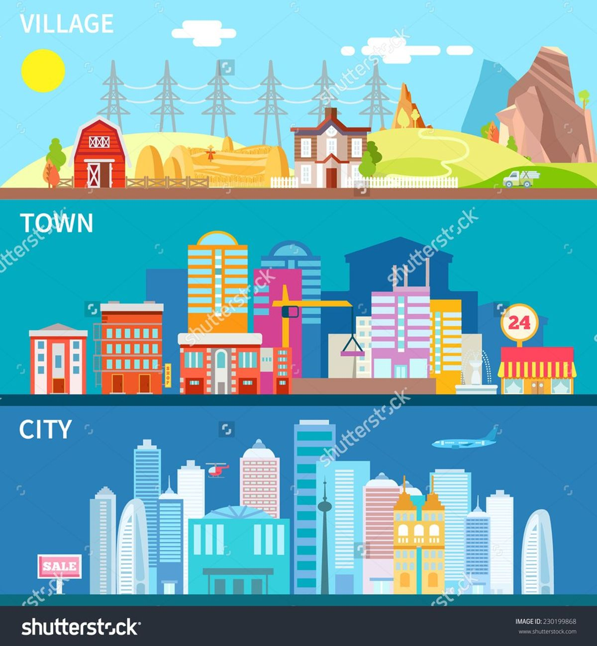 8 Differences Between City and Rural Life