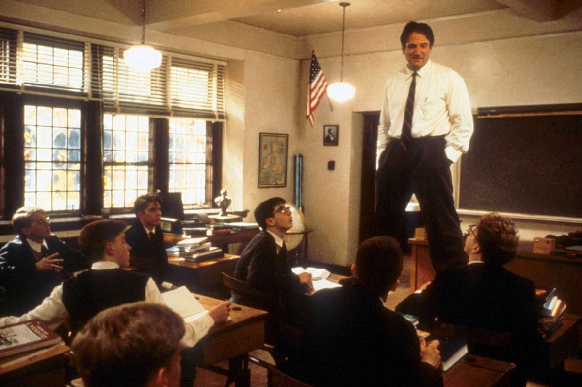 """Why Humanity Needs Poetry--According To """"Dead Poets Society"""""""