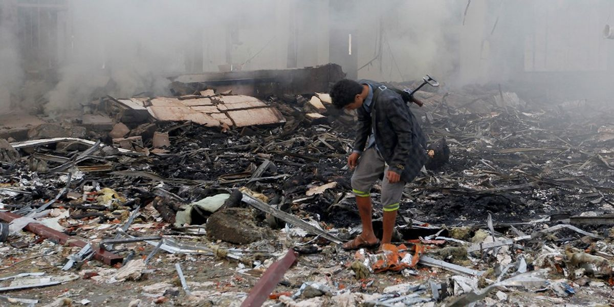 The U.S. Is Funding A War In Yemen You Haven't Even Heard Of