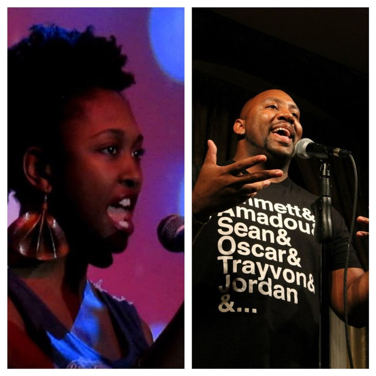 Poets of the Week: Chanel Dupree and William Evans