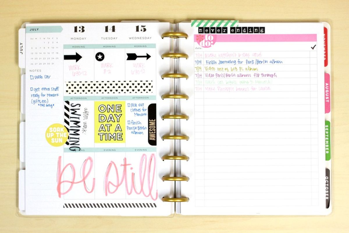 11 Reasons To Use A Planner
