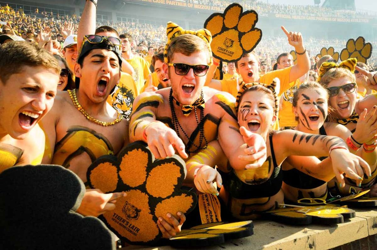 Mizzou Homecoming: Through the Eyes of a (Freshman) Tiger