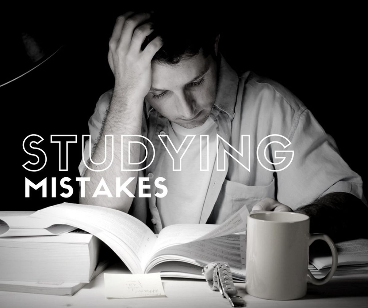 7 Mistakes Students Make When Studying.