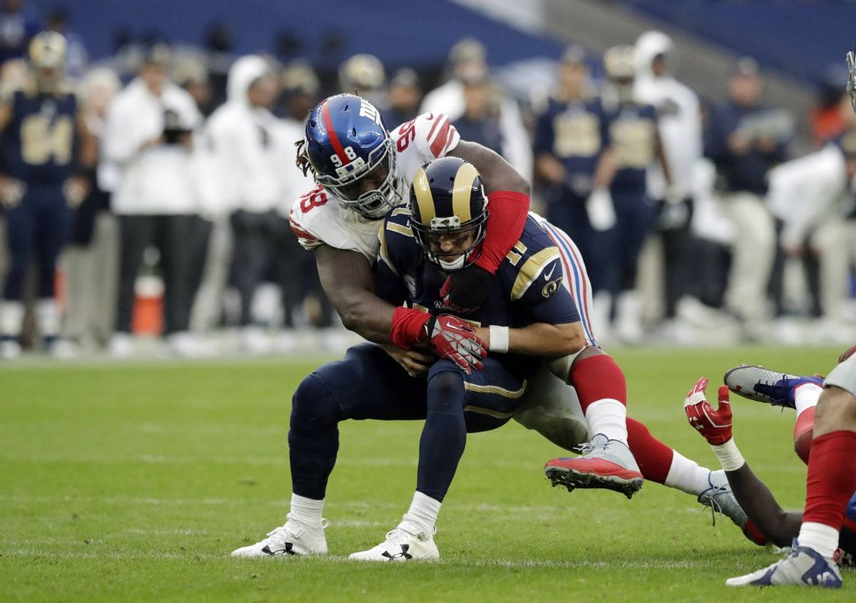 Giants Offensive Struggles Continue