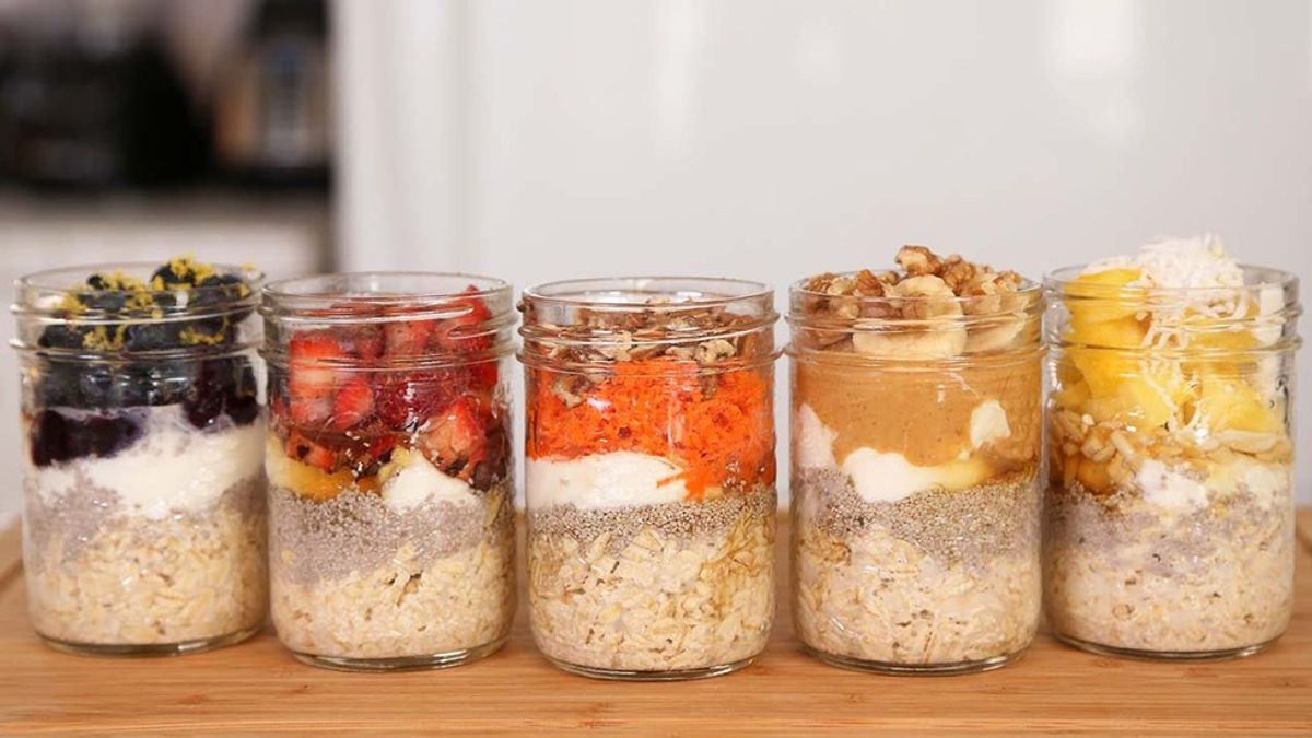 7 Overnight Oats Recipes To Try This Fall