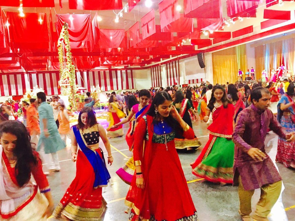 Indian Garba Dance