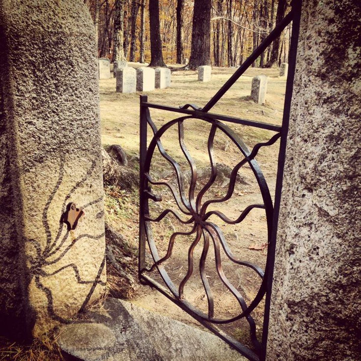 The Spider Gates, A Local Legend