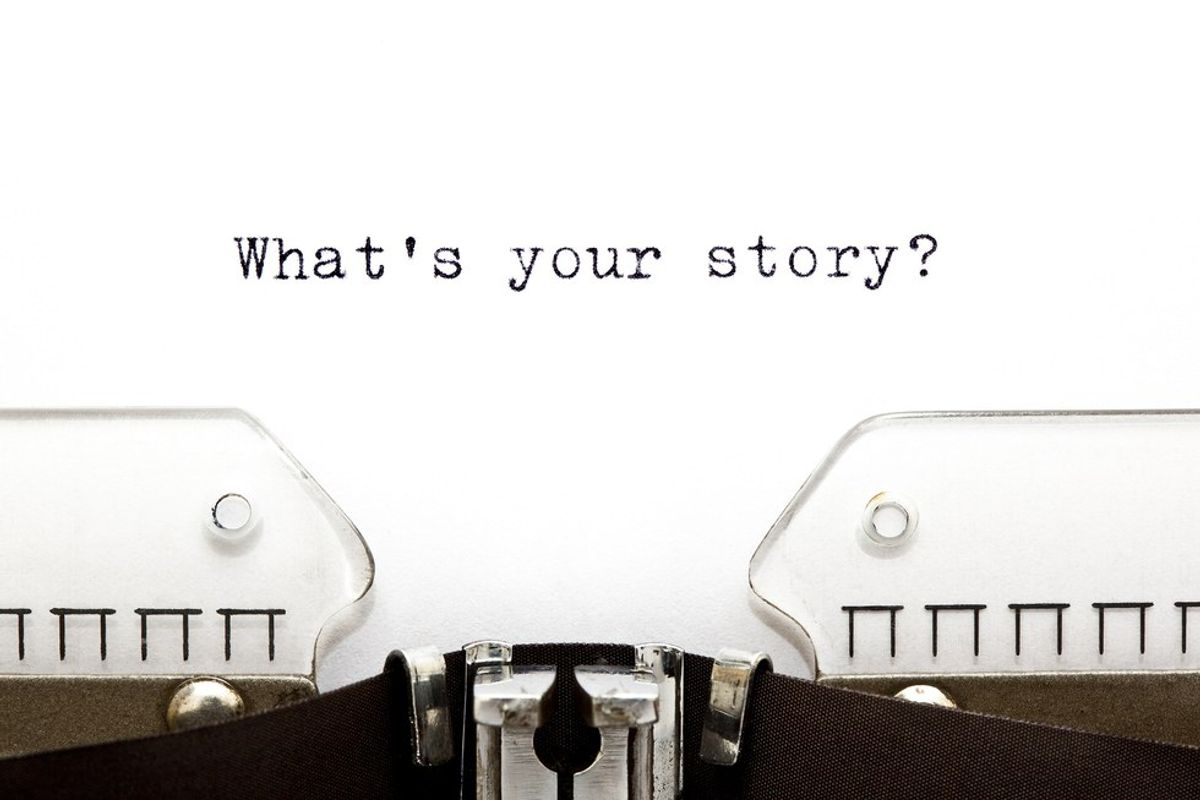 The Importance Of Telling Your Story