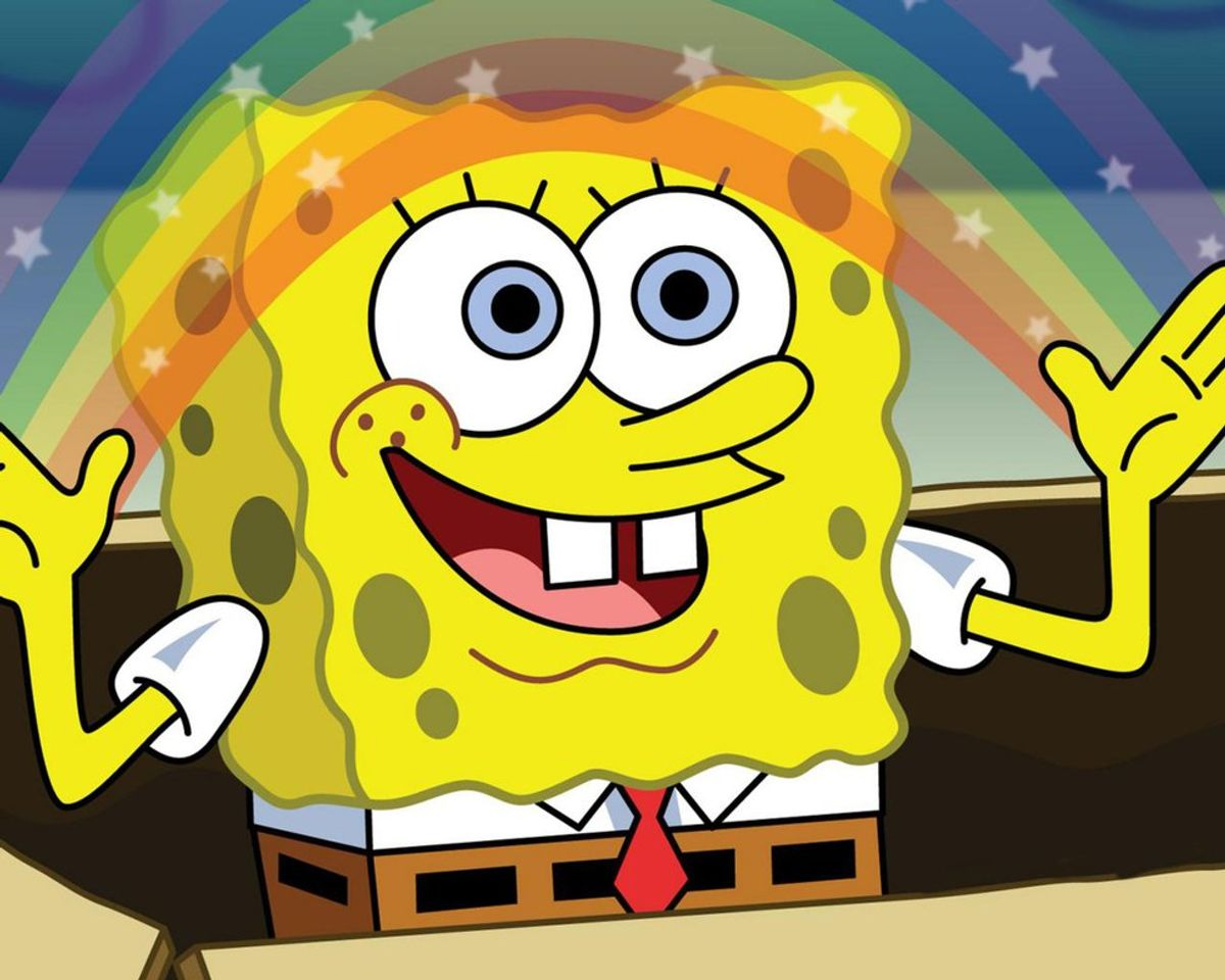 Getting Through Midterms With A Little Help From Spongebob