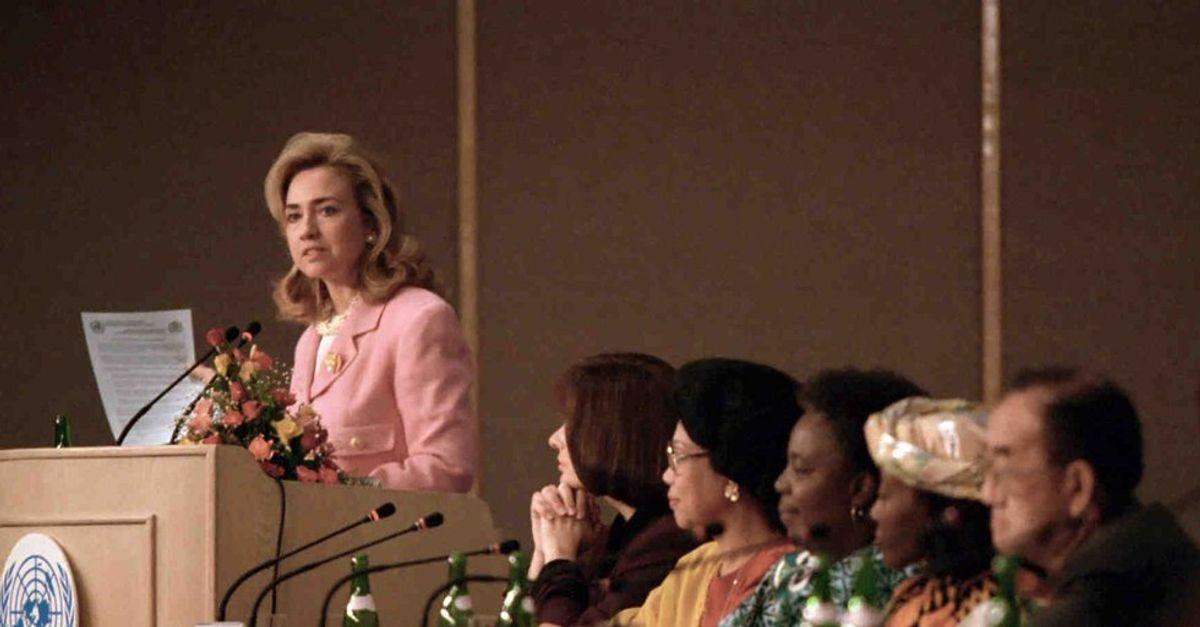 No Shit, Sherlock: Hillary Clinton's Women's Rights are Human Rights