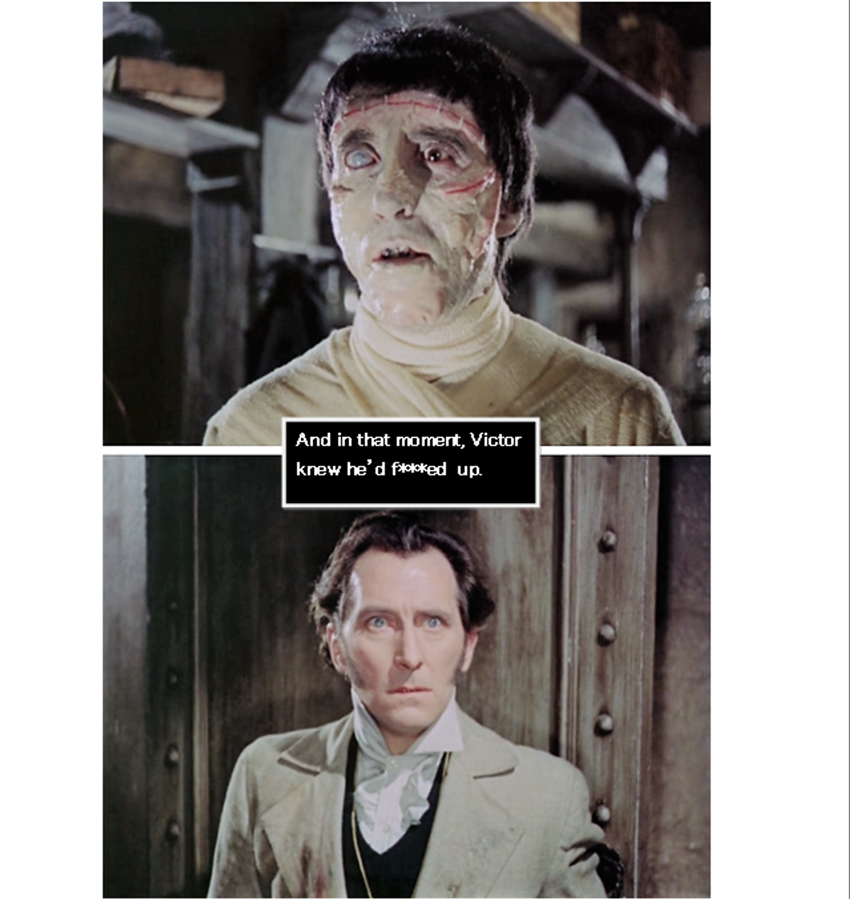 Why Frankenstein Is A Trashcan Of  A Human