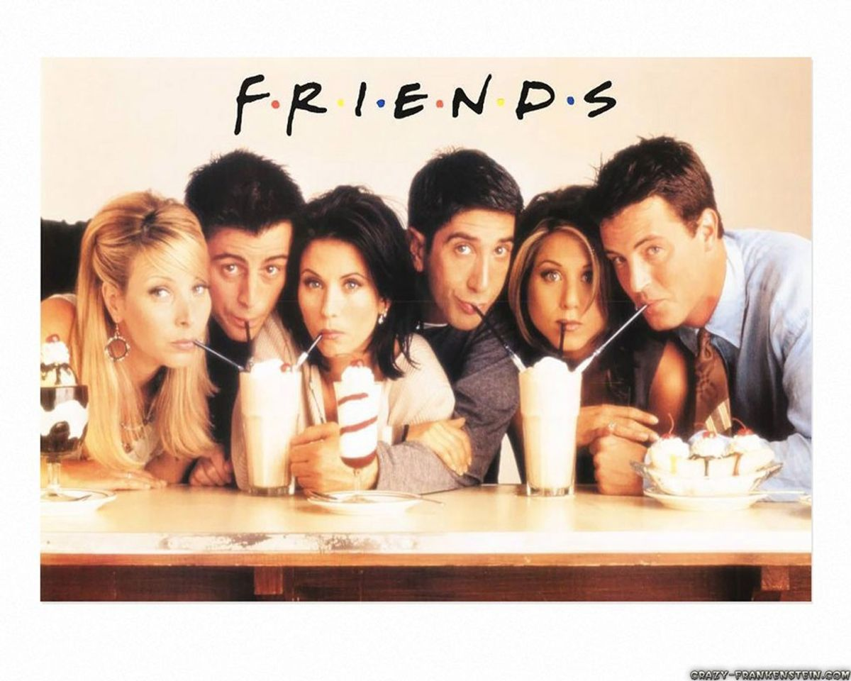"""Life In College, As Told By """"FRIENDS"""""""