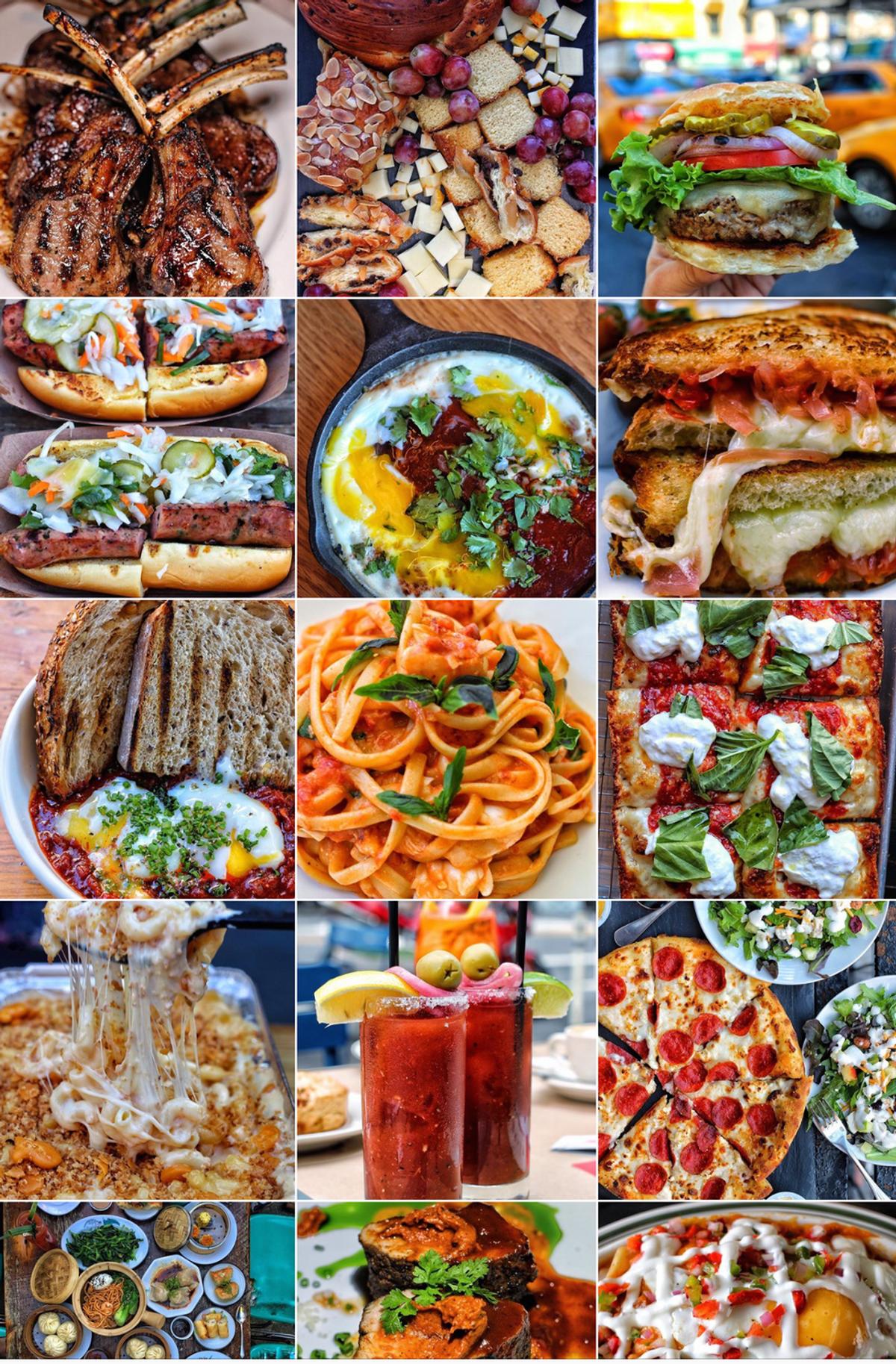 Top 5 Instagram Foodies of 2016