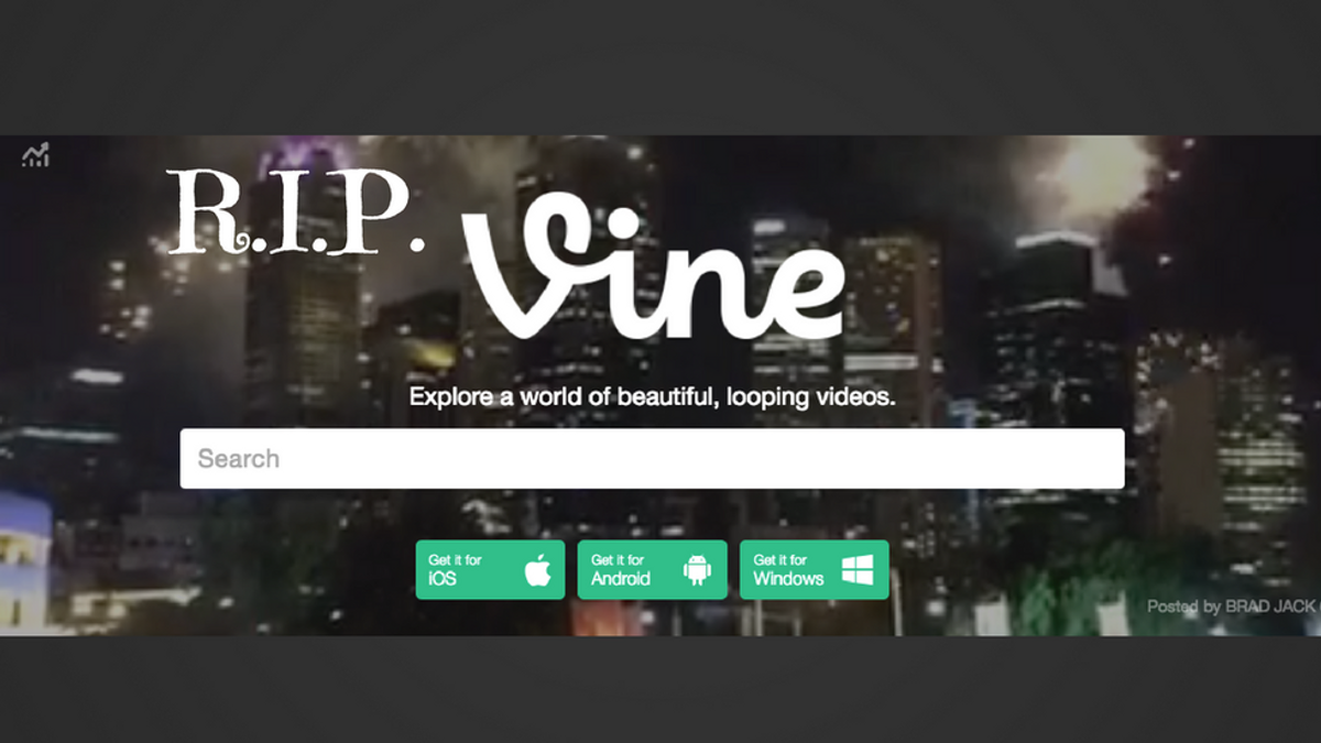 RIP Vine... and 5 Other Sites in the Social Media Graveyard