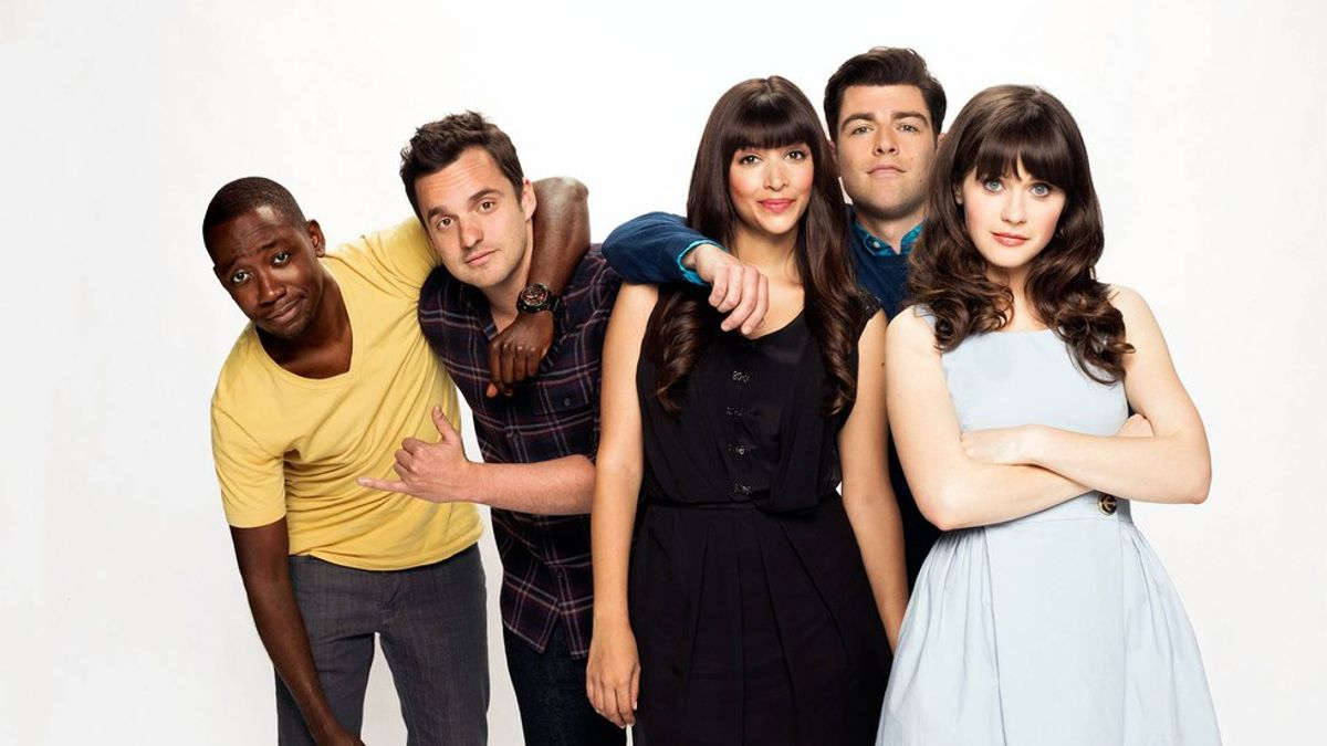 College Feelings As Told By 'New Girl'