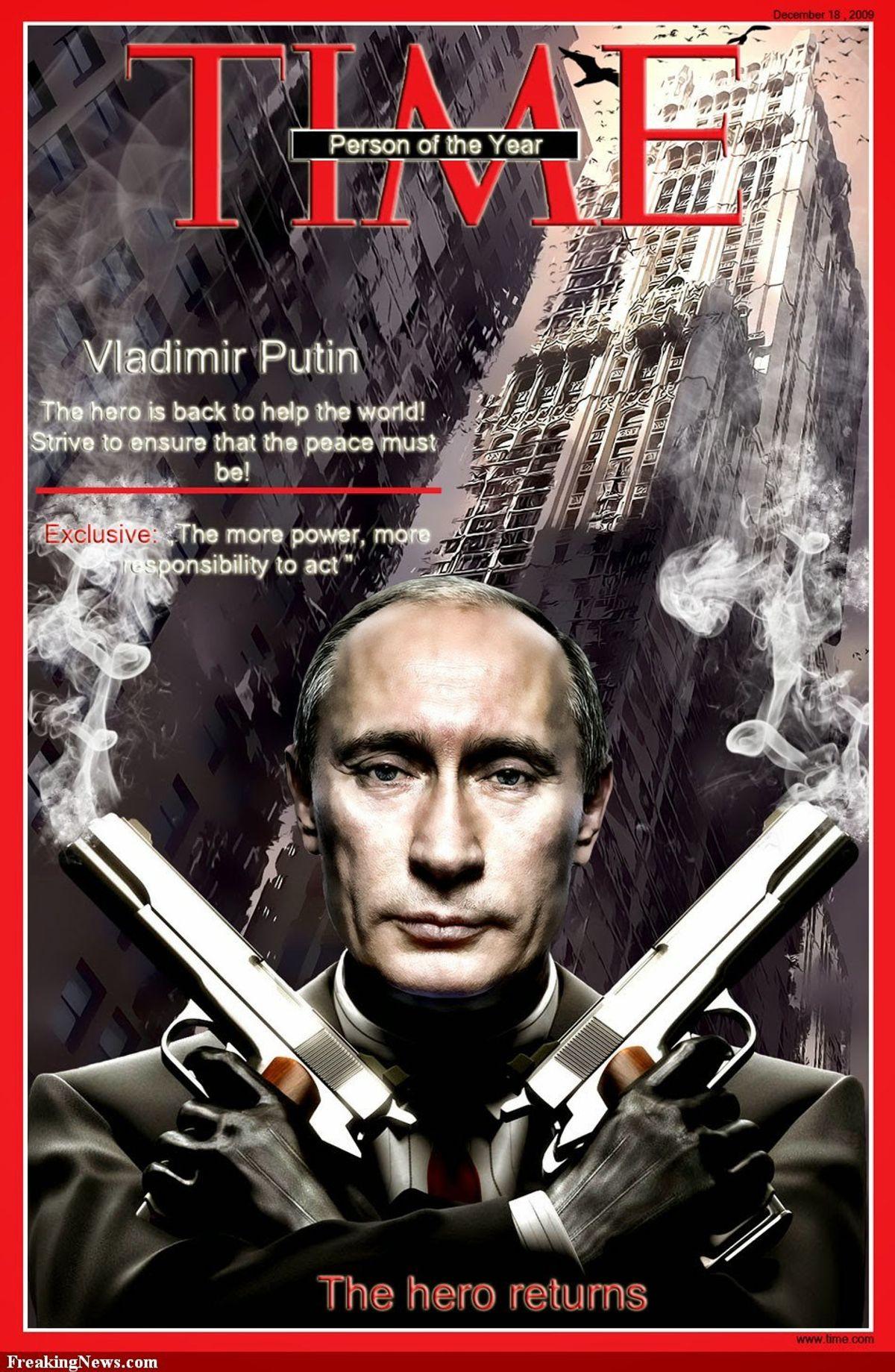 Putin, eh?