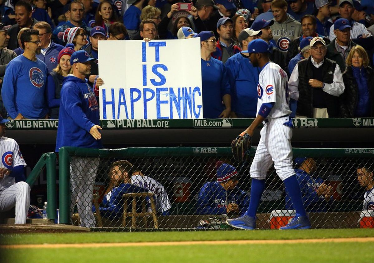 Chicago Cubs' Win Confirms Alternate Universe Theory