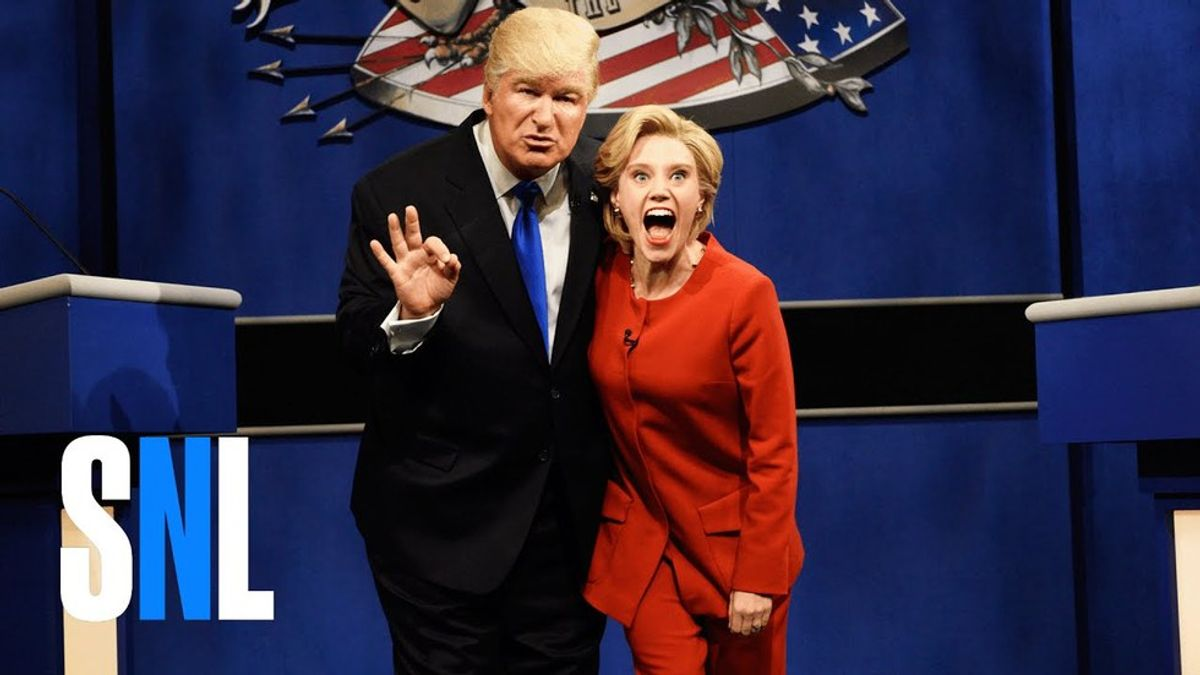 """A Reaction To SNL's Last """"Hillary Clinton/Donald Trump Cold Open"""""""