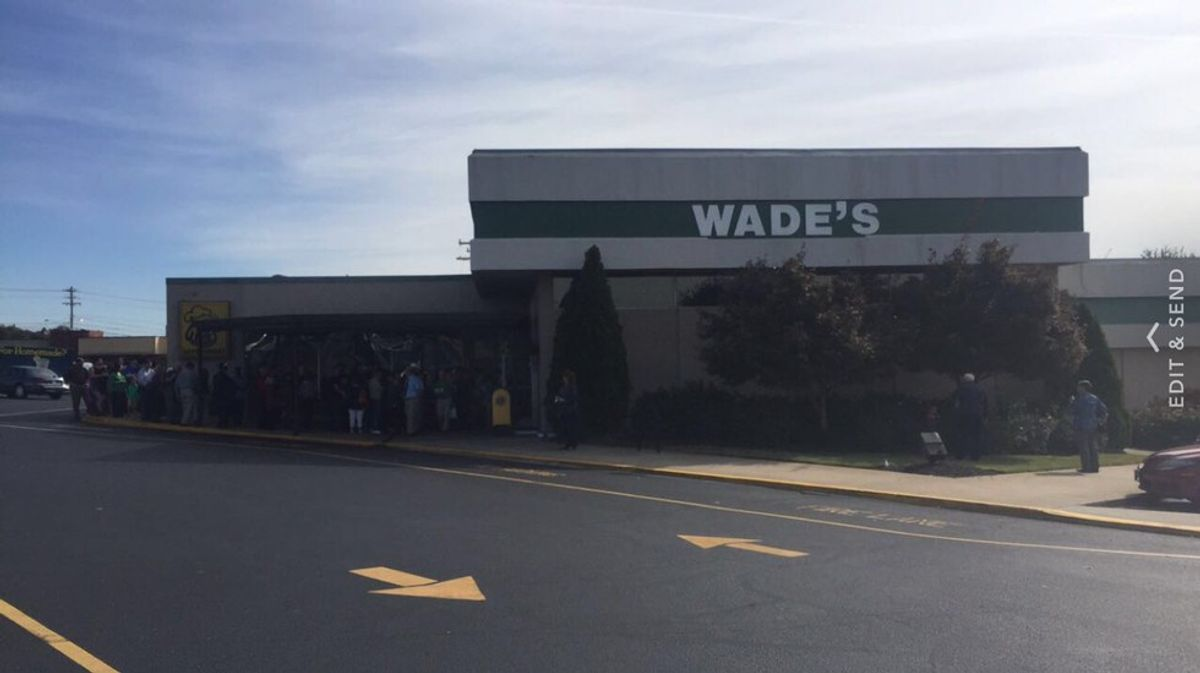 Ode To Wades Of Spartanburg