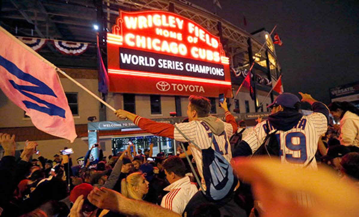 Congratulations On The World Series