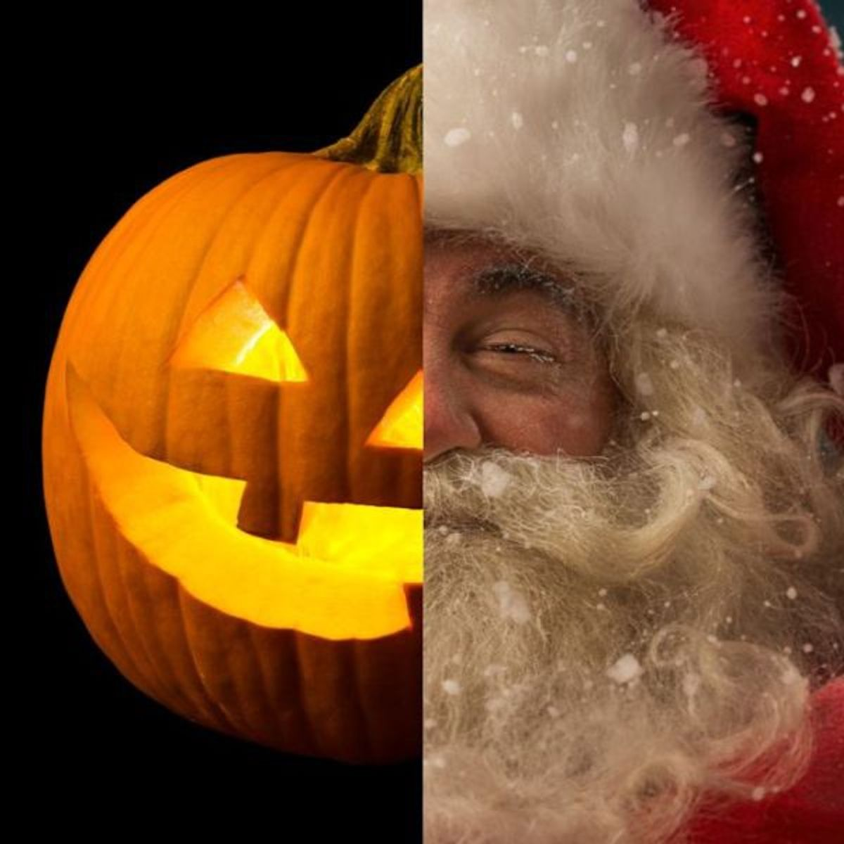 Halloween to Christmas, But Where's Thanksgiving?