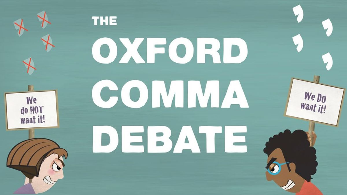 9 Reasons Why You Need the Oxford Comma