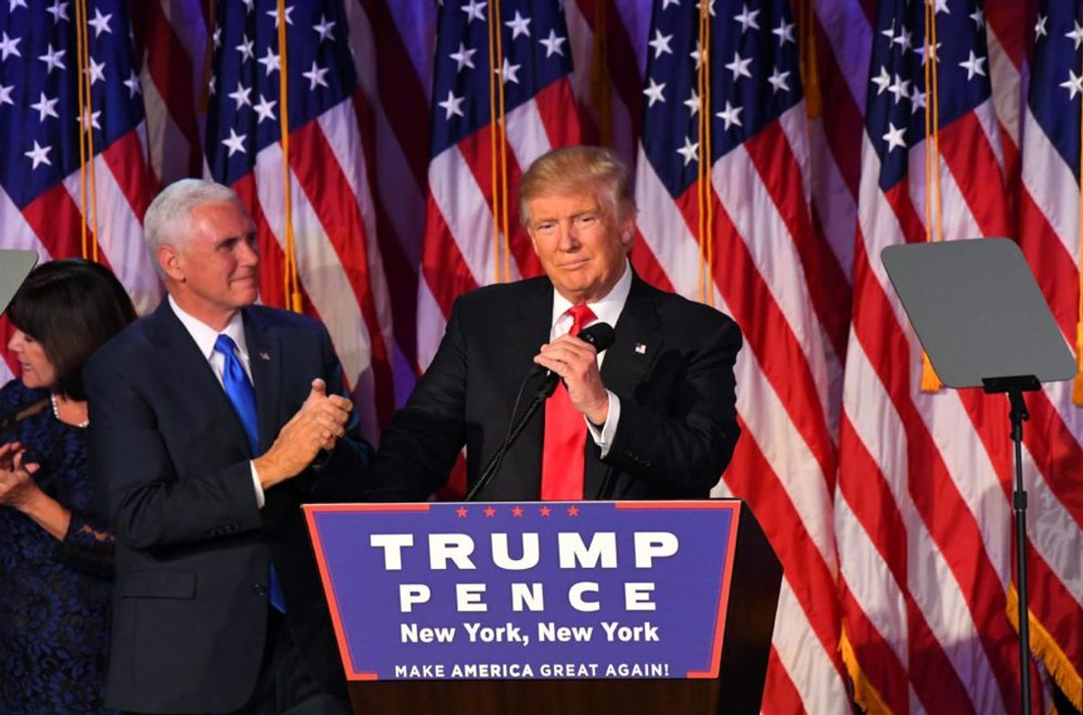Election Emotions: Trump 2016