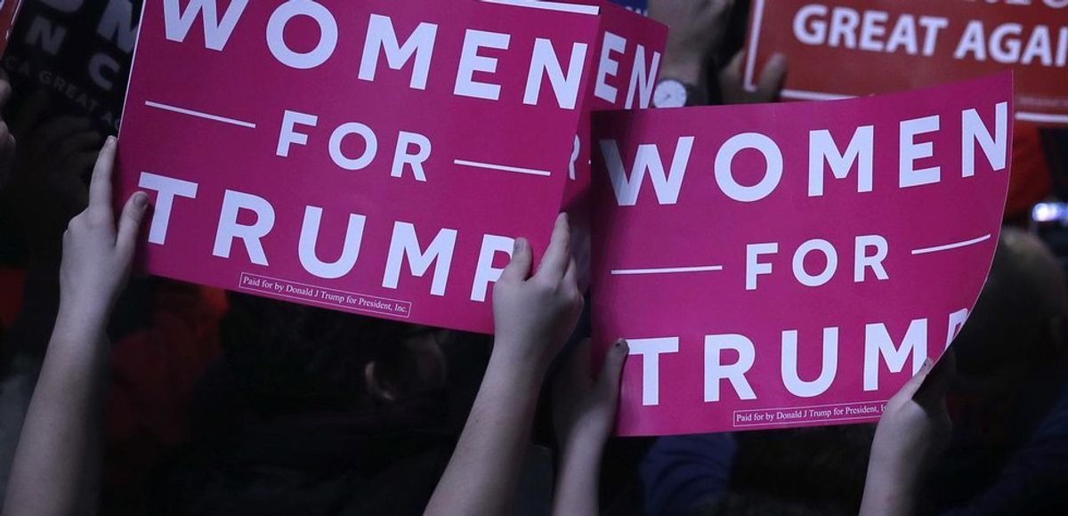 To Women Like Me Who Voted For Trump