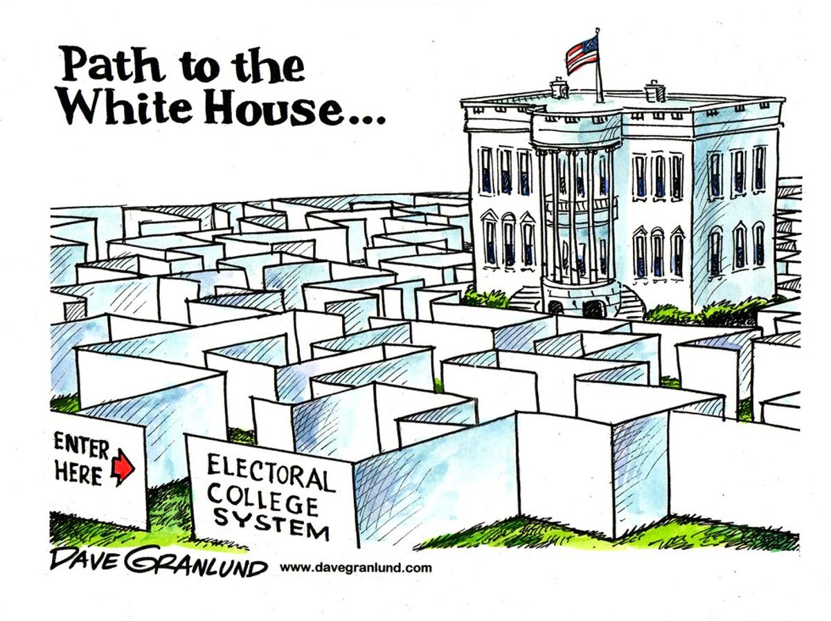 The Electoral College: By Dummy For Dummies