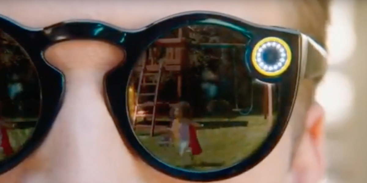 Snapchat Unveils its New Video-Equipped Spectacles