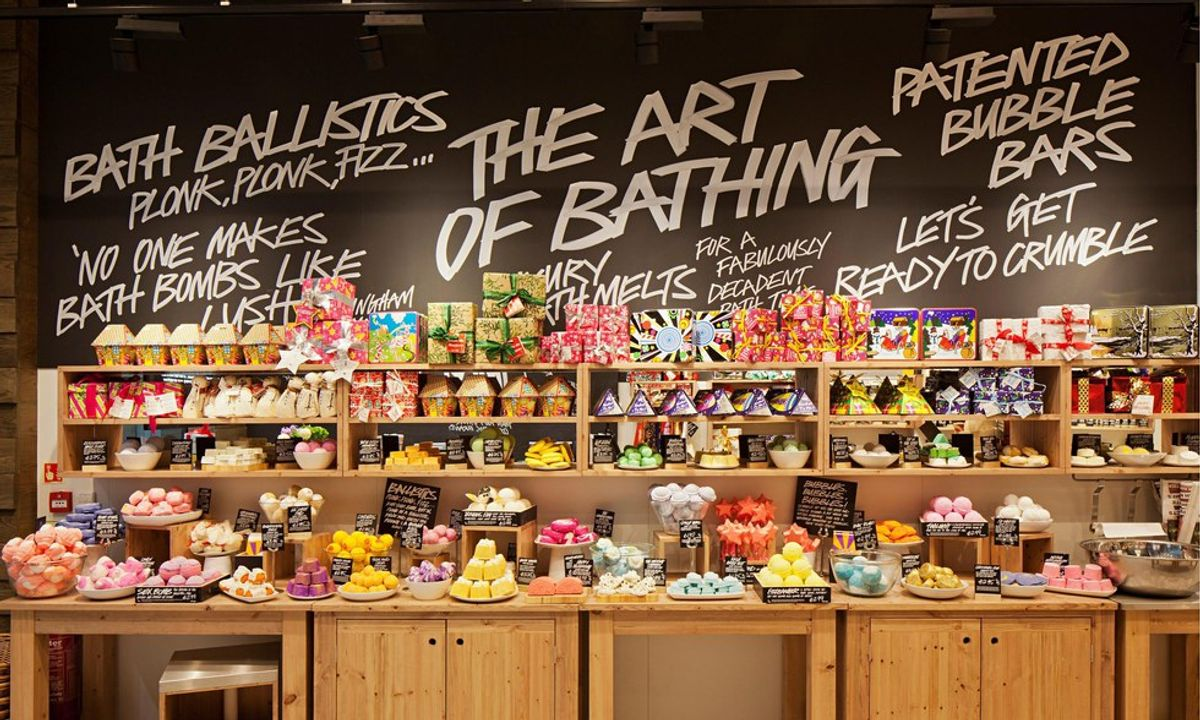 5 Reasons To Drop Everything You're Doing And Go Shop At Lush